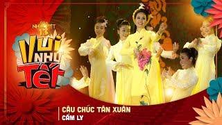 Câu Chúc Tân Xuân - Cẩm Ly | Gala Nhạc Việt 13 (Official) | Chương trình Tết Kỷ Hợi hay nhất