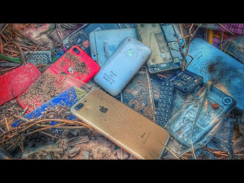 Restoration Broken iPhone | Found a lot of phone in the Rubbish | New Restoration And Restore iPhone
