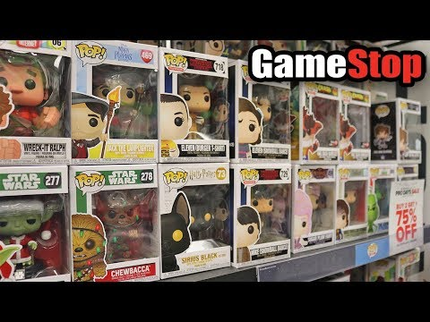GameStop Funko Pop Hunting!