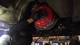 mcleod clutch install with 2003 mustang gt