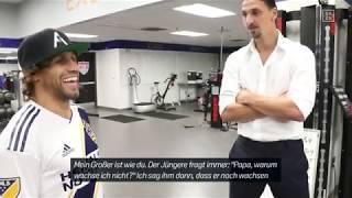 MLS meets UFC: Zlatan Ibrahimovic meets Urijah Faber | DAZN Feature