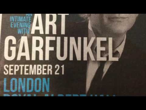 Art Garfunkel Live @ The Royal Albert Hall The Sound of Silence, Bright Eyes & more