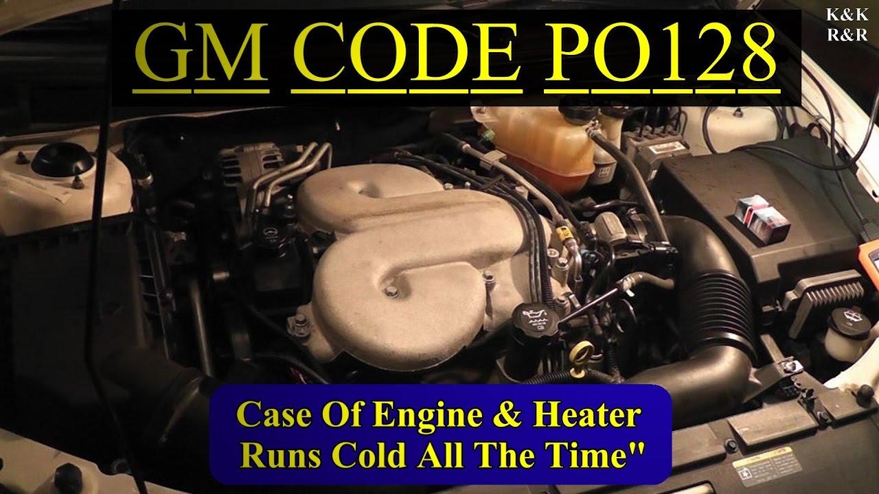 Po128 2006 Pontiac G6 Gtp 39l V6 Pt1 Diagnosis Replace Coolant 3 5l Engine Diagram Temp Sensor Fan Switch Retest