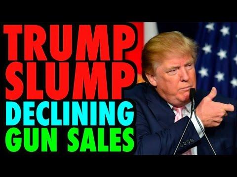 The Trump Slump! Declining Gun Sales in America