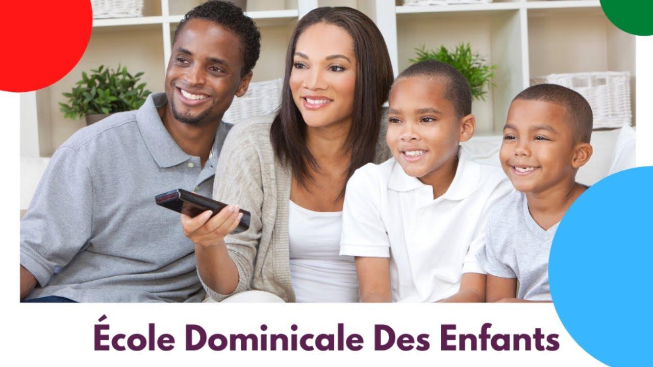 Ecole Dominicale Des Enfants [25 avril 2021]