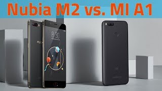 Nubia M2 vs Xiaomi MI A1 Speed Test
