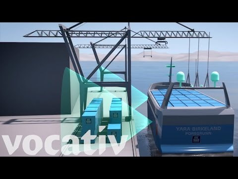The All-Electric Cargo Ship That Drives Itself