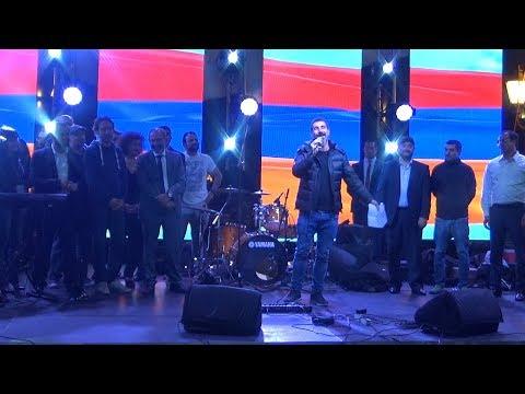 Serj Tankian Singing In Yerevan, May 7