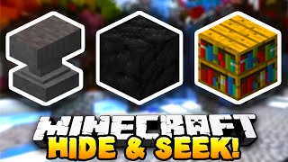 Minecraft - HIDE & SEEK #2 (Block Mini-Game) - w/ Preston & Kenny!