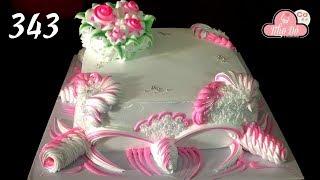 chocolate cake decorating buttercream  ( 343 ) Cách Làm Bánh Kem Đơn Giản Đẹp - Hồng Cưới ( 343 )