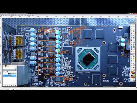 GPU PCB Breakdown: XFX RX 580 GTS