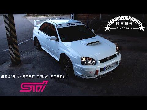 Subaru Impreza WRX STI twin scroll J-spec // Blobeye