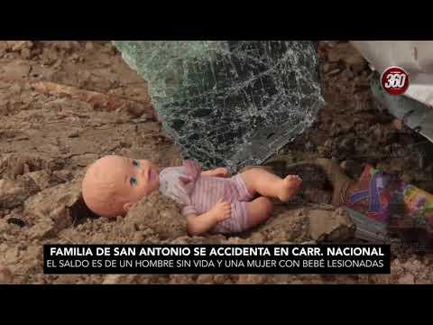 ¡Impactante accidente! Familia pierde a uno de sus miembros en tragedia