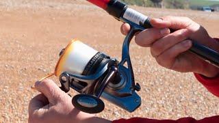 5 Minute Sea Fishing - How to Cast a Beach rod