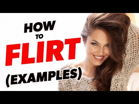 How To Flirt With A Girl - 3 Steps To Flirting With Women! from YouTube · Duration:  5 minutes