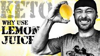 WHY LEMON JUICE ON A KETO DIET?