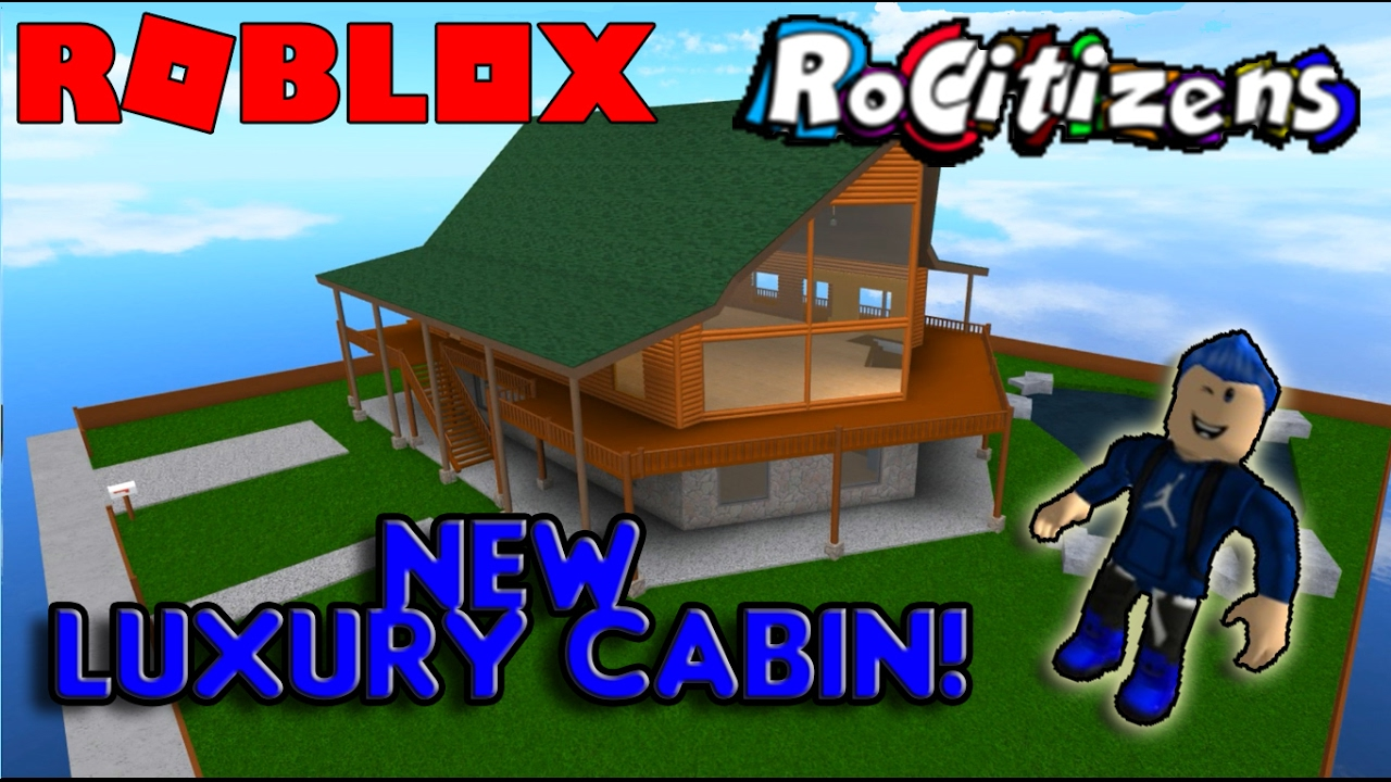 roblox rocitizens amazing  house luxury cabin