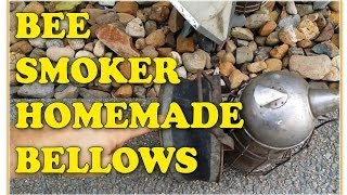 Bee Smoker Homemade Bellows - Beekeeping For Beginners Beekeeping 101
