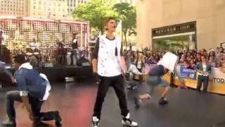 Justin Bieber - All Around The World (Live @ Today Show 2012)