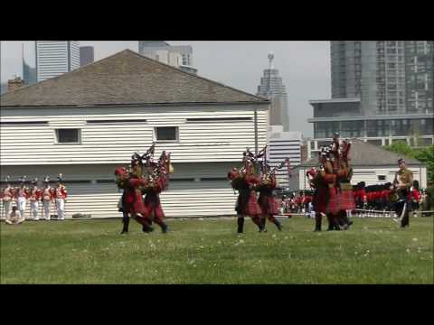 Fort York 48th Highlanders 125th Tattoo 2016 Part 1 of 5