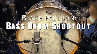Drum Tones: Bass Drum Comparison Shootout at Unleashed Drum Studio