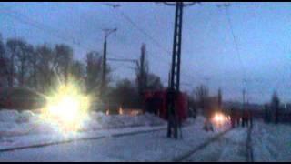 Авария Кривой Рог Югок(Авария была на Югоке перед мостом на дачной была перевернутая фура с очень большой деталью фура закрыла..., 2016-01-28T20:13:26.000Z)