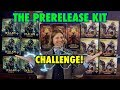 Let's Play The Prerelease Kit Challenge for Magic The Gathering! Which will be the best MTG set?