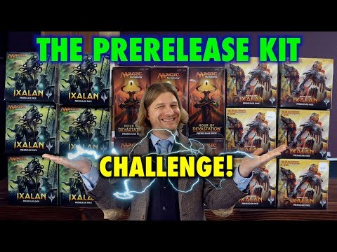 Lets Play The Prerelease Kit Challenge for Magic The Gathering! Which will be the best MTG set?