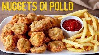 NUGGETS DI POLLO Ricetta Facile / Chicken Nuggets Easy Recipe - Fatto in Casa da Benedetta