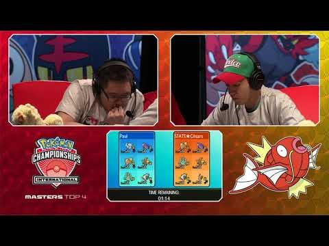 2017 Pokémon North American International Championships: VG Masters Top 4, Match B