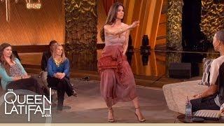 Roselyn Sanchez Plays 'Dance It Out' on The Queen Latifah Show
