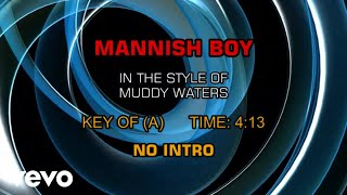 Muddy Waters - Mannish Boy (Karaoke)