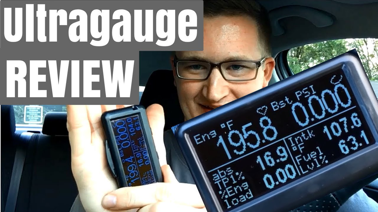 UltraGauge OBD2 (OBDII) User Review + Features - YouTube