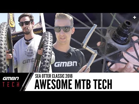 Coolest New Mountain Bike Tech Products | GMBN Tech At Sea Otter 2018