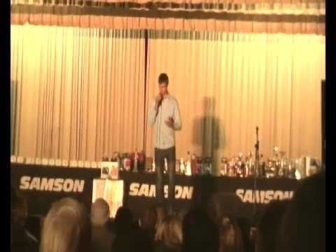 Wilco van Wyk at the Gemini Singing Competition 2012