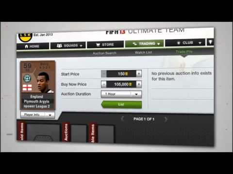 FIFACoinTraderz  Cheapest Place To Buy Or Sell FUT 13 Coins!