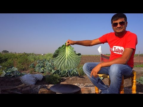 Indian Food Cooking Outdoor in a Village | One Pot Meal