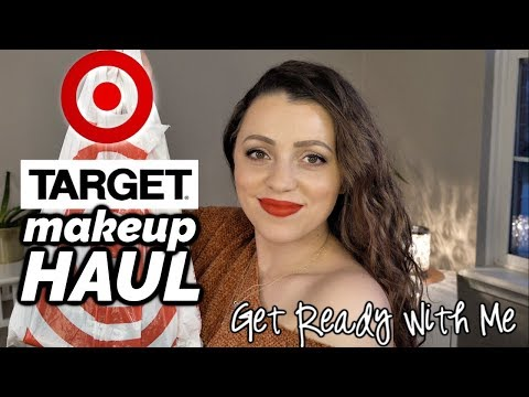 TARGET MAKEUP HAUL + Get Ready With Me