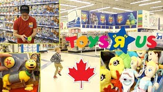 """""""toy Story 4"""" Toy Hunt At 'toys R Us' Canada"""