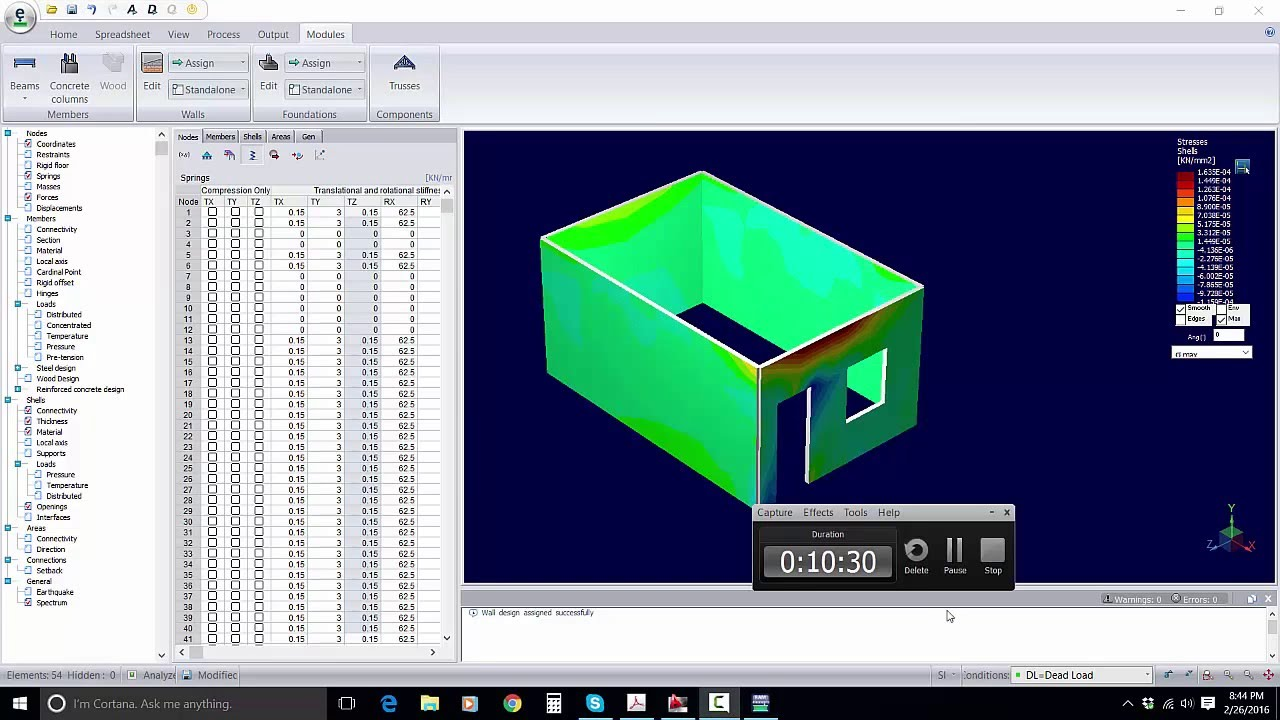 Masonry Structure analysis and design in Bentley Systems RAM as ...