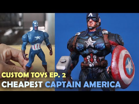 Custom Toys Ep.2: Tuning the Cheapest Captain America