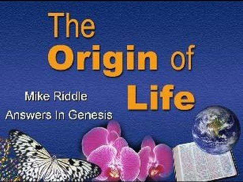 """""""The Origin of Life"""" - Scientific Evidence"""