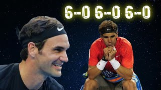 Federer is the ONLY Player to do THIS to Nadal