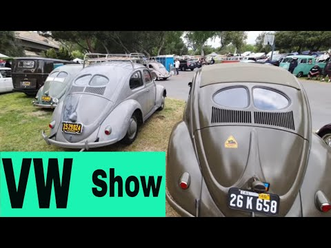 VW CAR SHOW Spring Picnic camping event VW busses campers and split window bugs