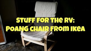 Stuff For The Rv:  Poang Chair From Ikea