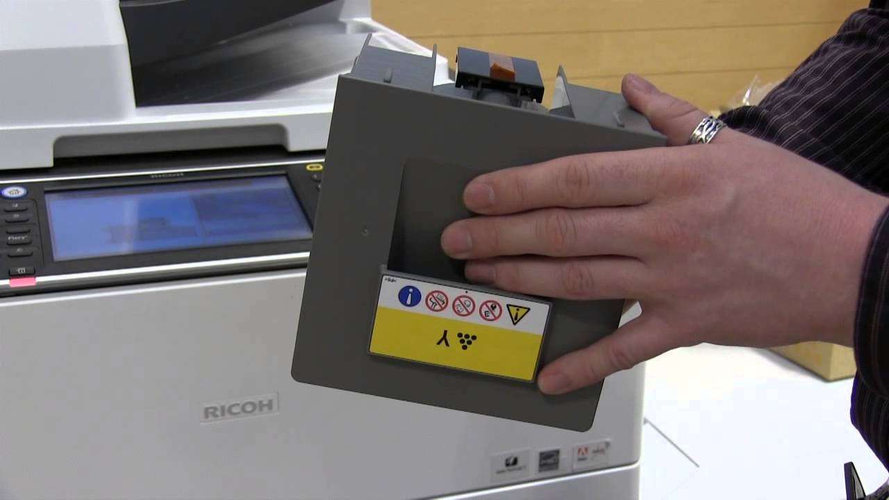 how to change password on ricoh copier