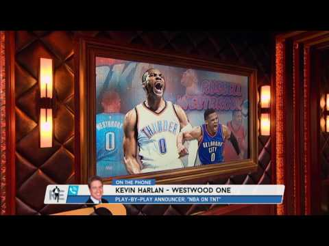 CBS NCAA Play-by-Play Announcer Kevin Harlan on Russell Westbrook
