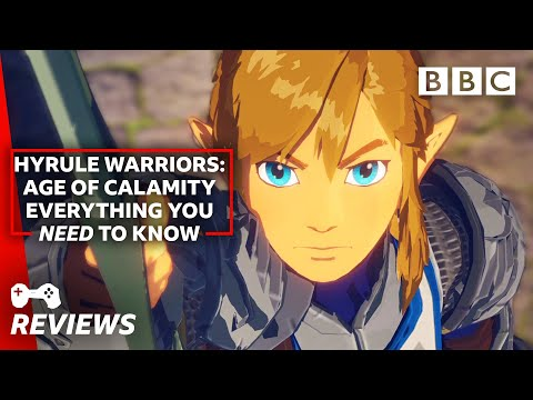Our Hyrule Warriors: Age of Calamity review! - BBC The Social
