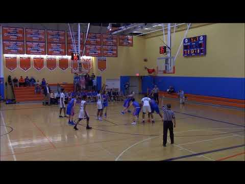 Lawrence Woodmere Academy (LWA) vs Collegiate in the NYSAIS Class B Championship Game - 02 26 18