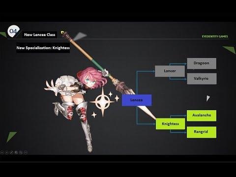 Dragon Nest - Lancea 2nd Job Knightess ( Avalanche & Randgrid )